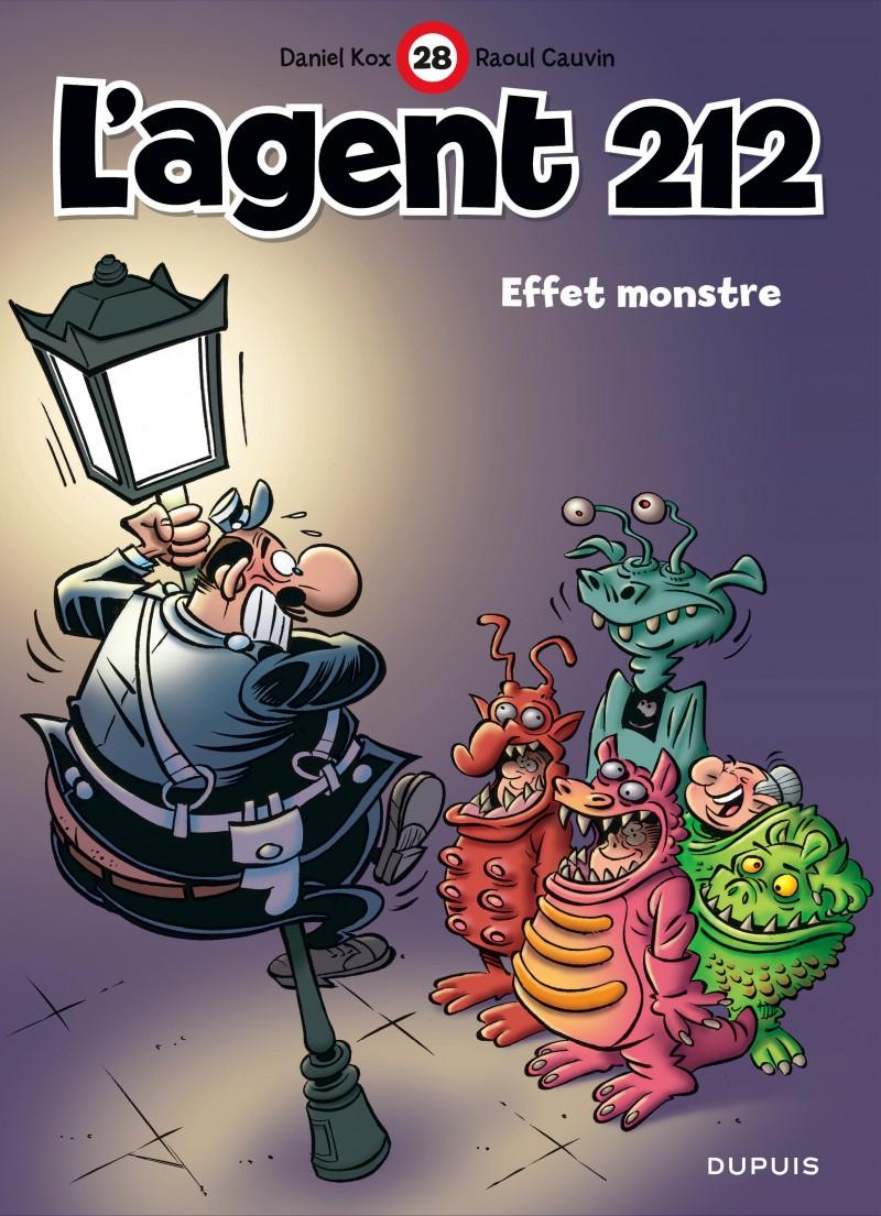 L'agent 212 - tome 28 - Effet monstre