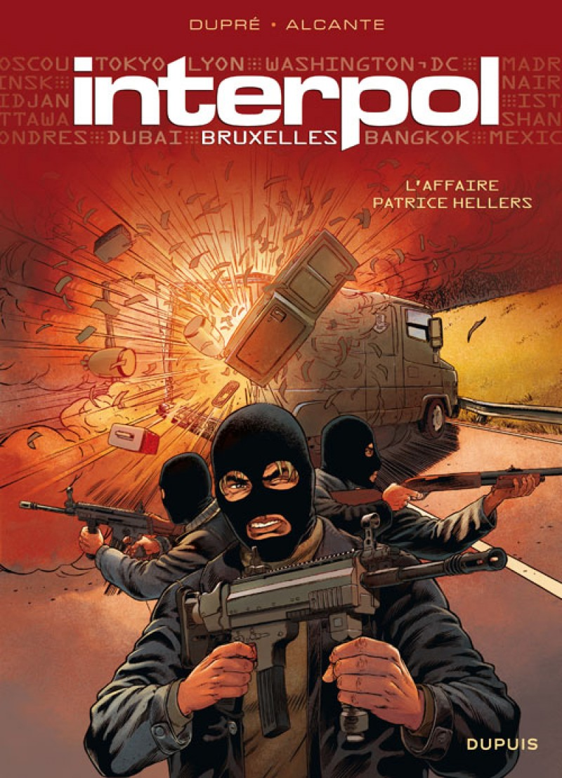 Interpol - tome 1 - Bruxelles 1, l'affaire Patrice Hellers