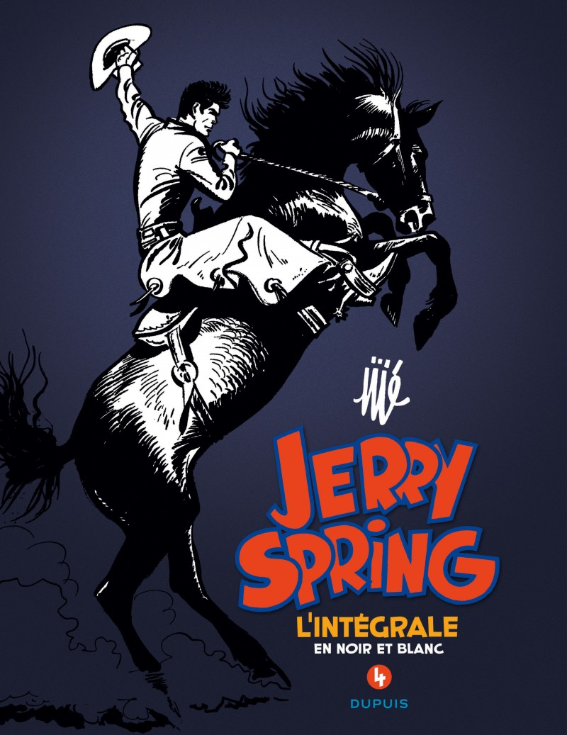 Jerry Spring - L'Intégrale - tome 4 - Jerry Spring - L'intégrale - Tome 4