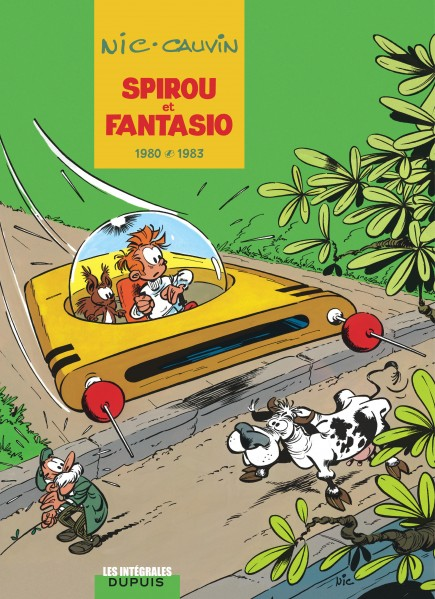 Spirou et Fantasio - L'intégrale - 1980-1983