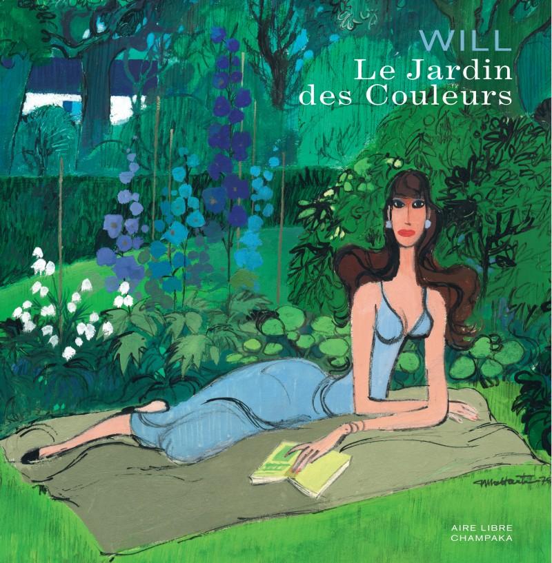 Artbook Will - Le jardin des couleurs