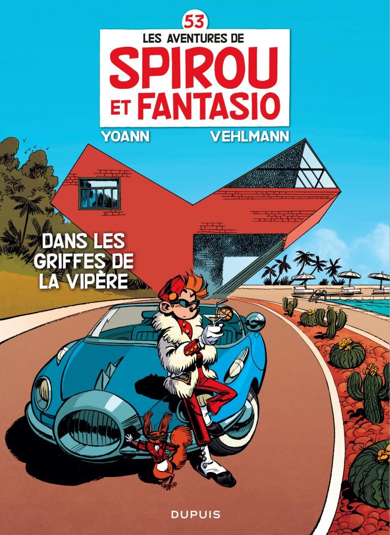 Spirou and Fantasio - tome 53 - Dans les griffes de la Vipère
