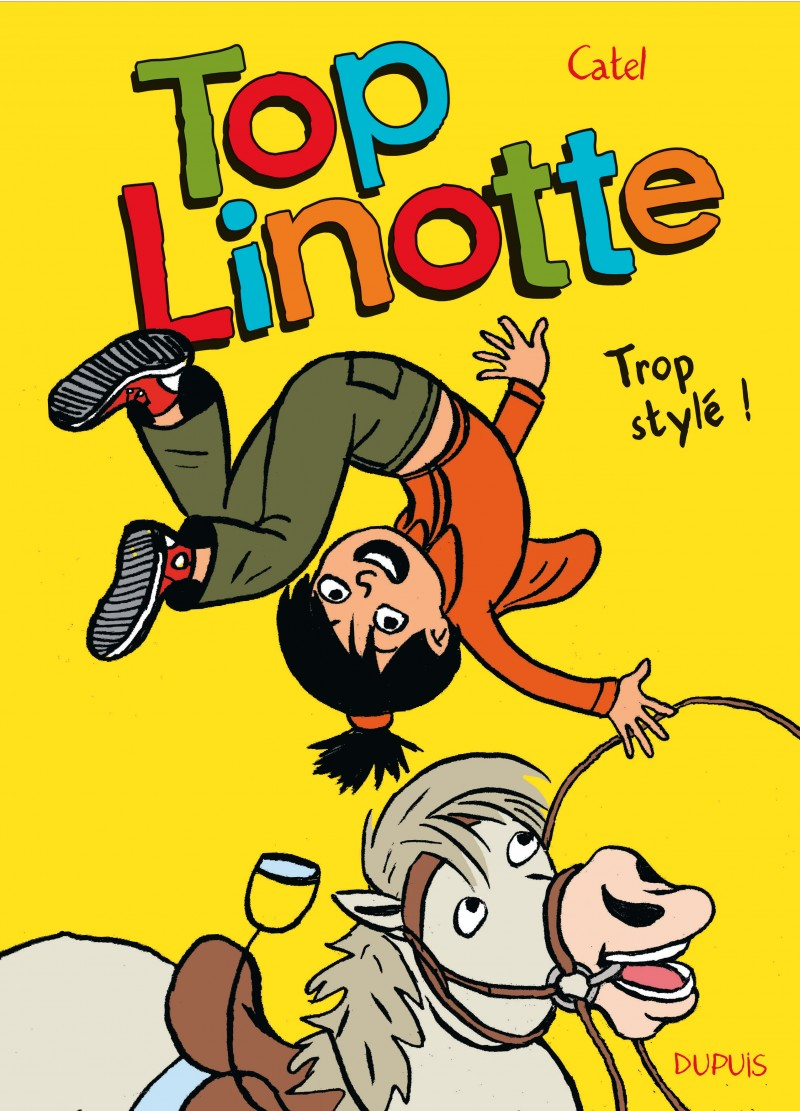 Top Linotte - tome 1 - Trop stylé !