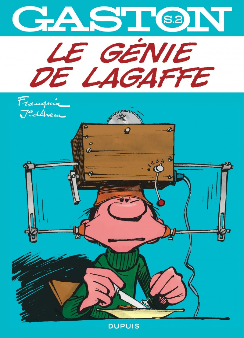 Gaston - Hors-Série - tome 2 - Le génie de Lagaffe