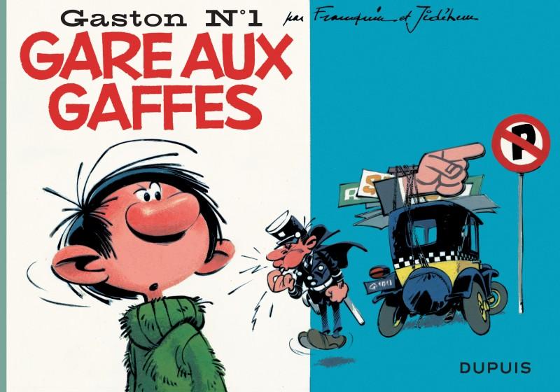 Gaston à l'italienne - tome 1 - Gare aux gaffes