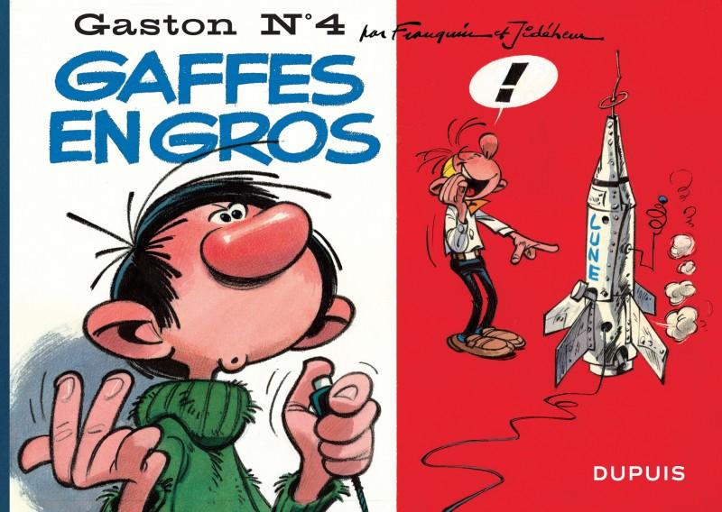 Gaston à l'italienne - tome 4 - Gaffes en gros