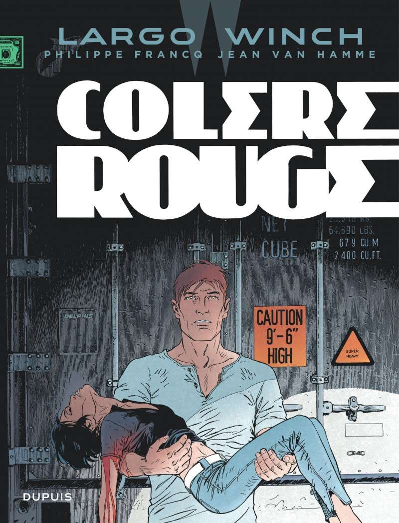 Largo Winch - tome 18 - Colère rouge