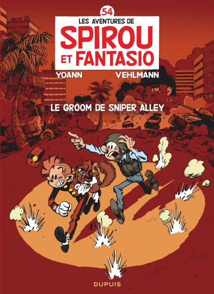 Spirou and Fantasio - Le groom de Sniper Alley