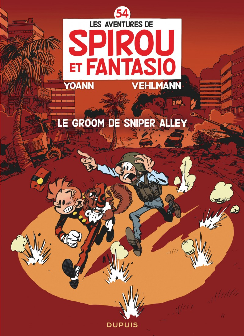 Spirou and Fantasio - tome 54 - Le groom de Sniper Alley
