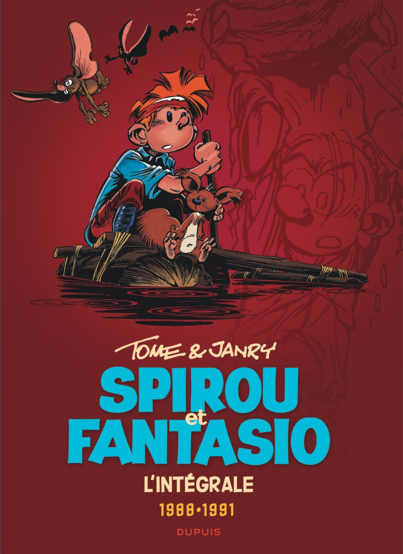 Spirou et Fantasio - Compilation - tome 15 - Tome & Janry 1988-1991