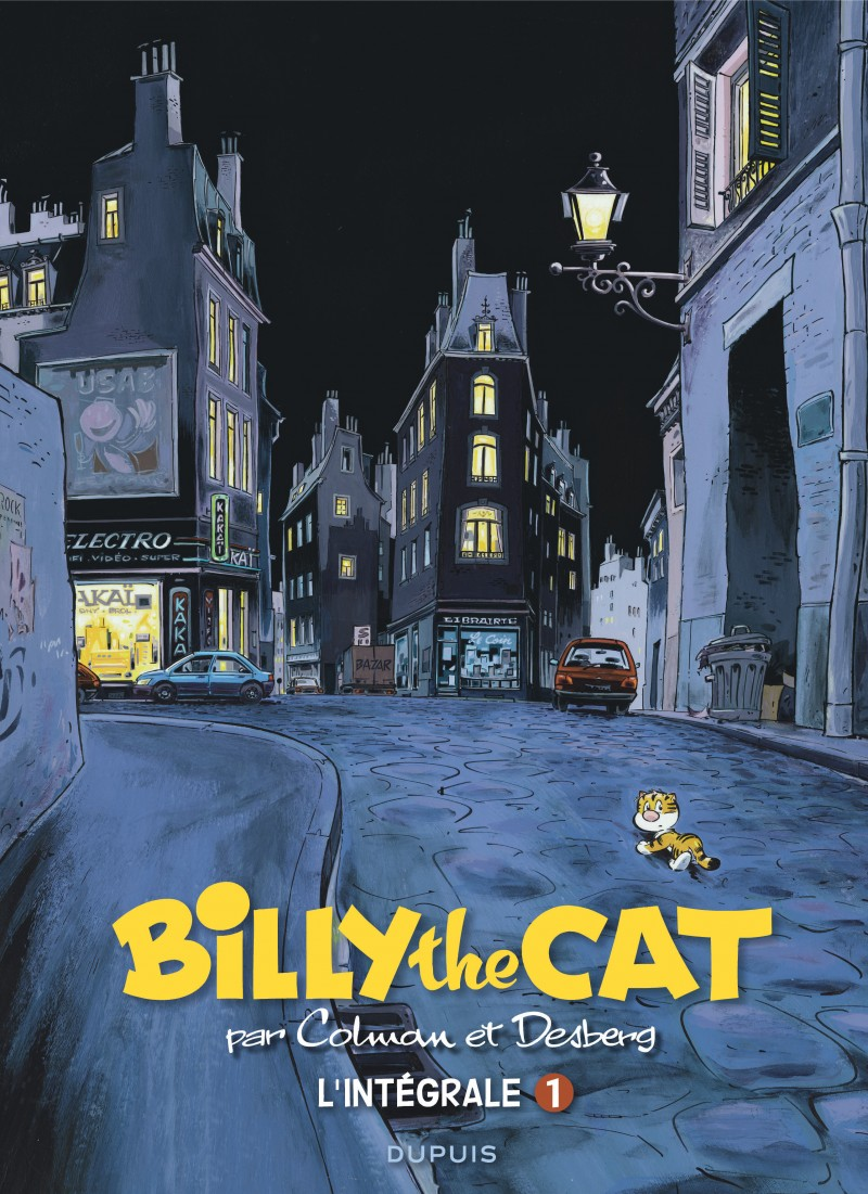 BILLY the CAT - L'intégrale - tome 1 - Billy the Cat intégrale 1 : 1981-1993