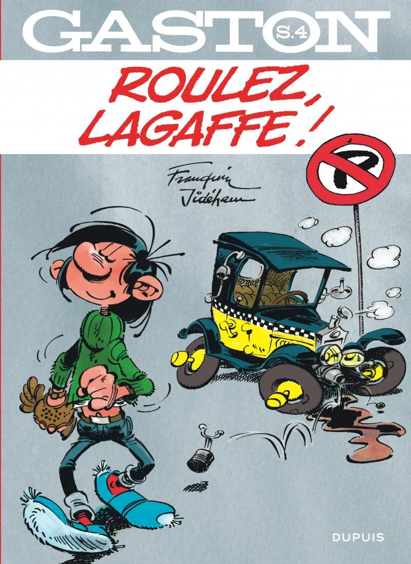 Gaston - Hors-Série - tome 4 - Roulez, Lagaffe !