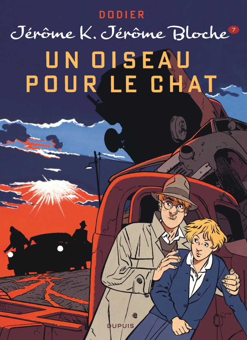 Jérôme K. Jérôme Bloche - tome 7 - Un oiseau pour le chat