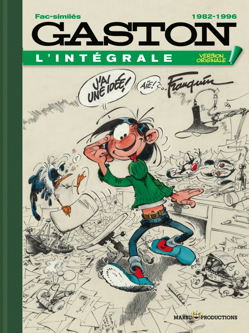 Version Originale - tome 21 - Gaston VO 1982-1996