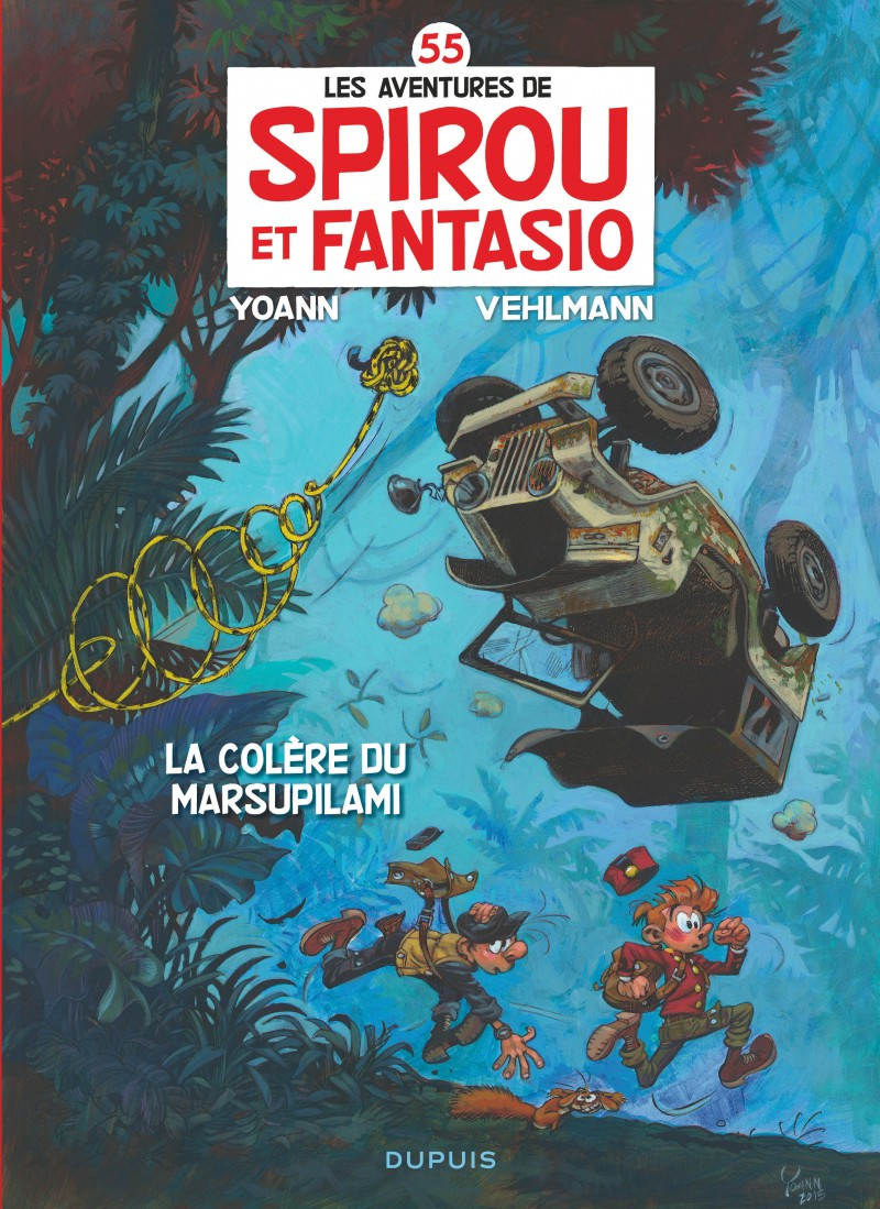 Spirou and Fantasio - tome 55 - La colère du Marsupilami