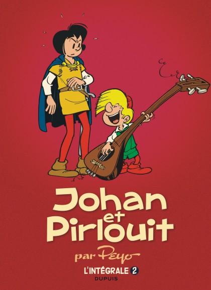 Johan et Pirlouit - L'Intégrale - Johan et Pirlouit, L'Intégrale tome 2 (1955-1956)