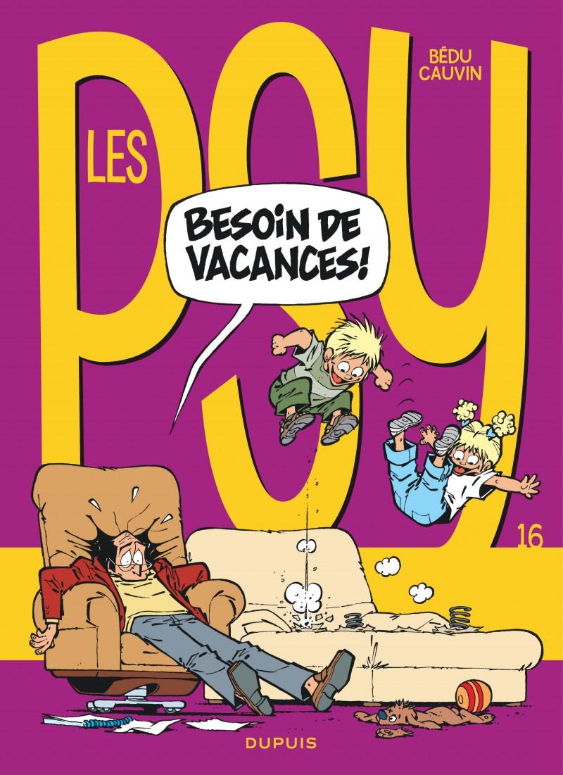 Les Psy - tome 16 - Besoin de vacances !