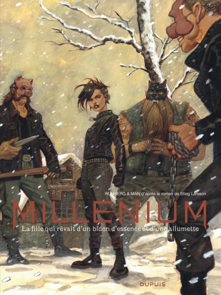 Millénium - Intégrale - La fille qui rêvait d'un bidon d'essence et d'une allumette