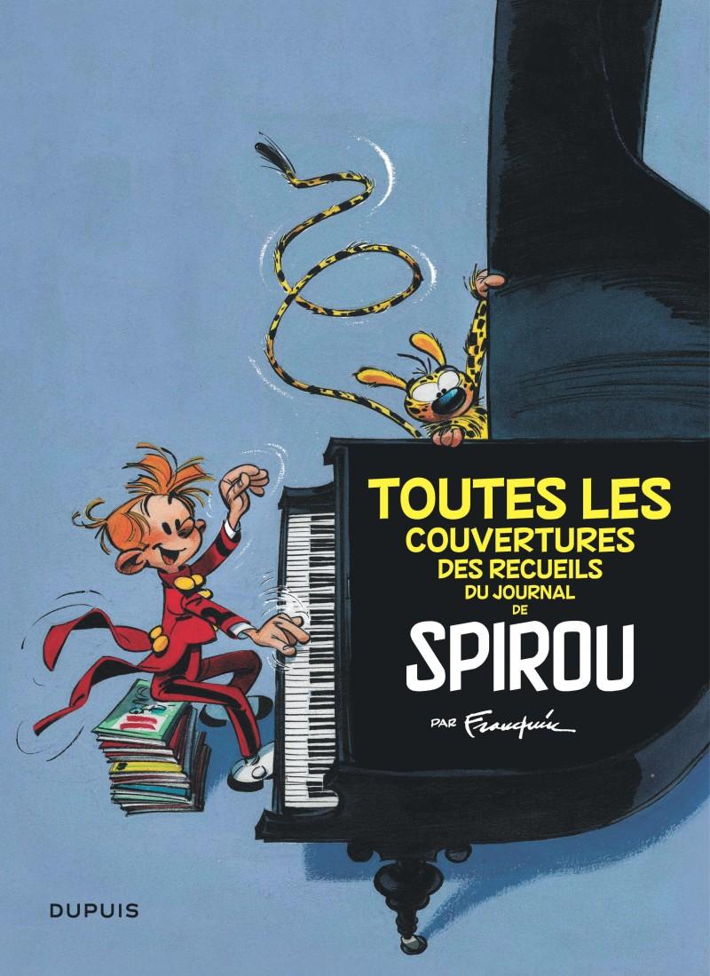 Franquin Classics - Toutes les couvertures des recueils du Journal de Spirou par Franquin