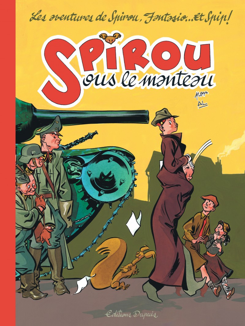 SPIROU Beneath the Coat - Spirou sous le manteau