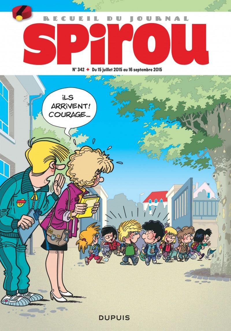 Recueil Spirou - tome 342 - Recueil Spirou 342