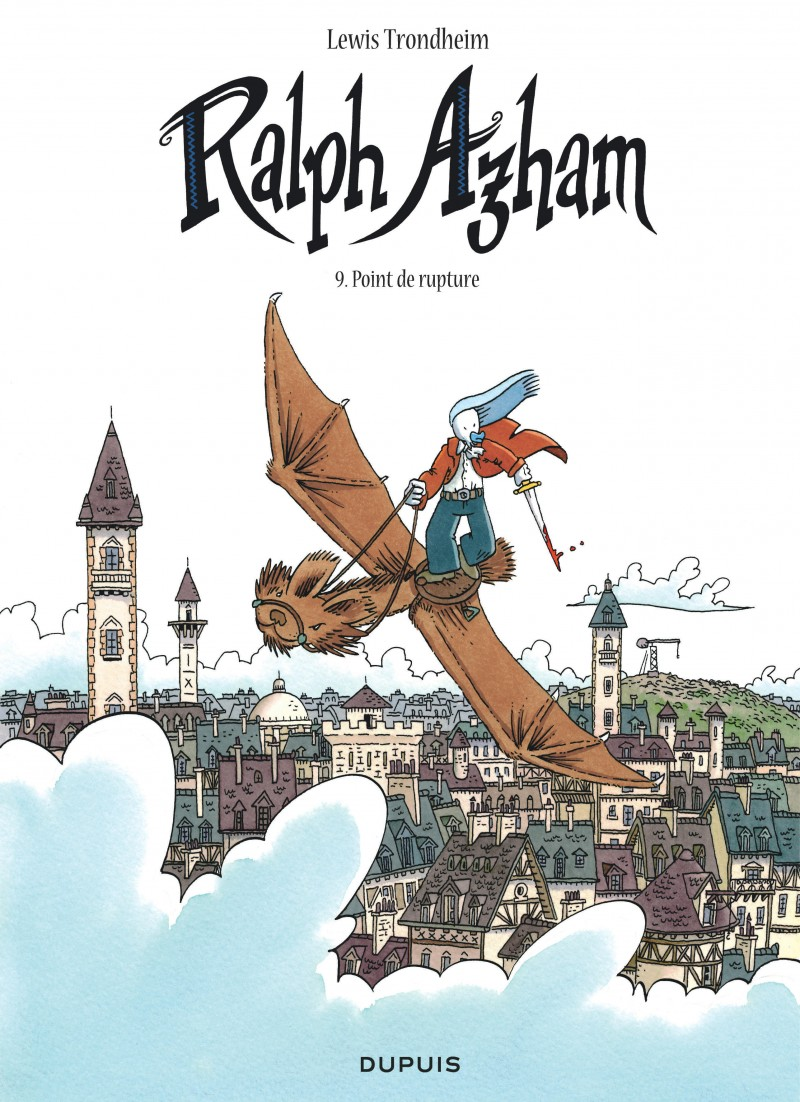Ralph Azham - tome 9 - Point de rupture