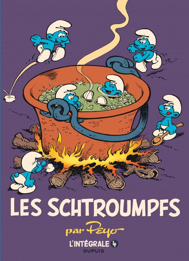 Les Schtroumpfs - L'intégrale - tome 4 - 1975-1988