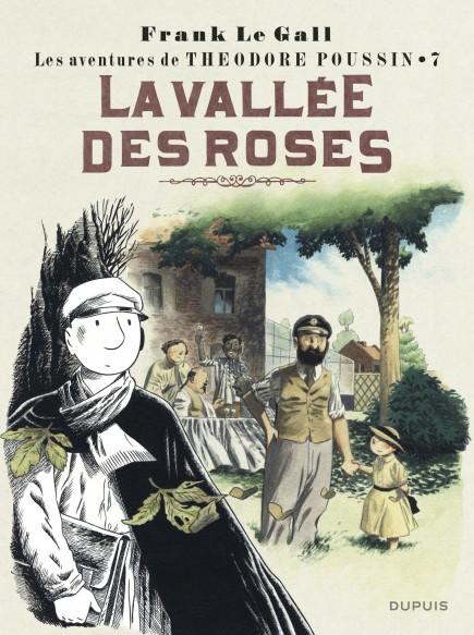 Théodore Poussin - La Vallée des roses