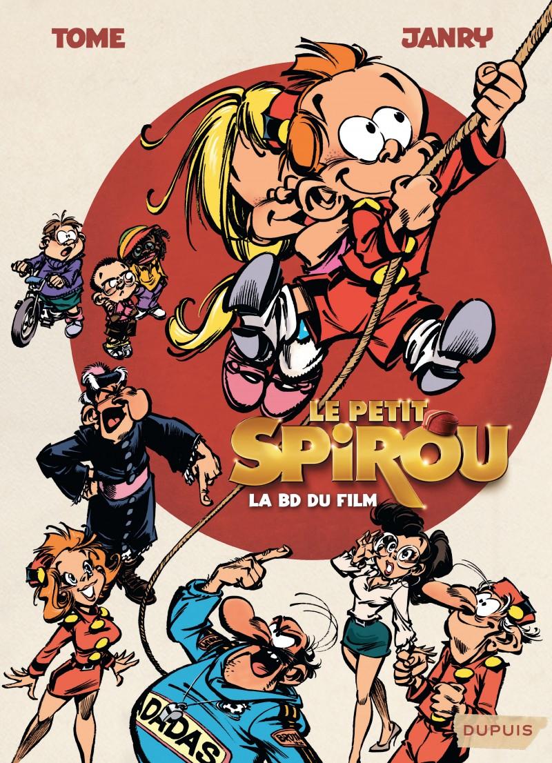 Le Petit Spirou (le film) - Le Petit Spirou, la BD du film