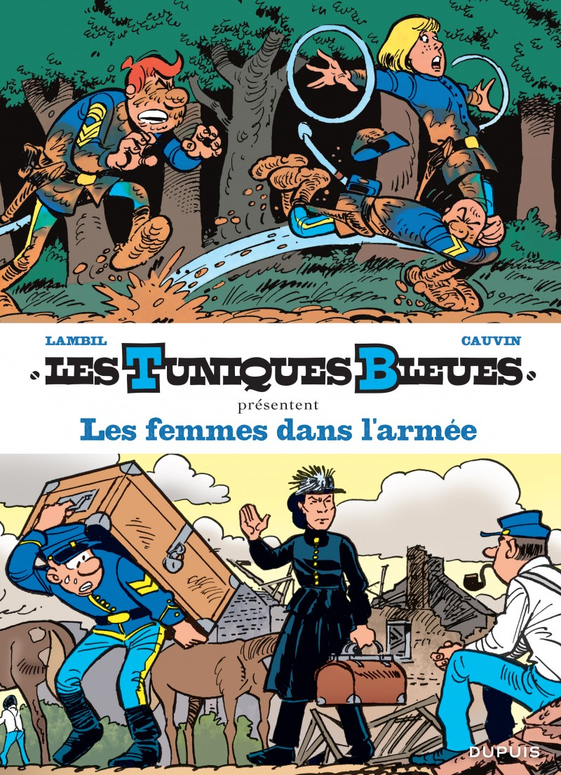 Les Tuniques Bleues présentent - tome 9 - Les femmes dans l'armée