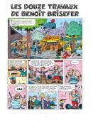 Feuilleter : Douze travaux de Benoît Brisefer (Les)