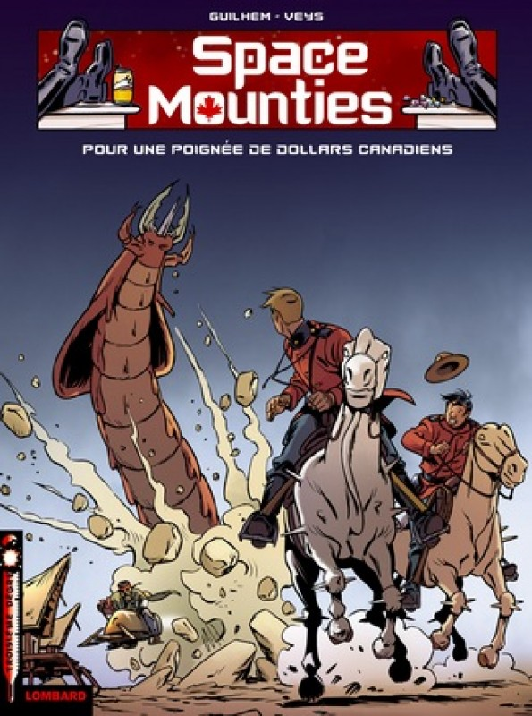 Space Mounties Mediatoon Foreign Rights