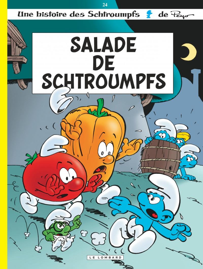 Les Schtroumpfs - tome 24 - Salade de Schtroumpfs