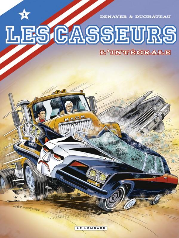 Al & Brock (Les Casseurs), , DENAYER/DUCHATEAU, bd, Le Lombard, bande dessinée