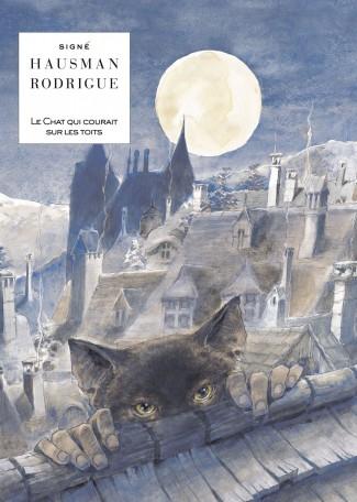 Le chat qui courait sur les toits