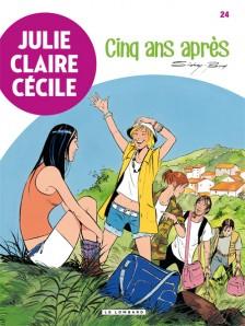 cover-comics-julie-claire-ccile-tome-24-cinq-ans-aprs