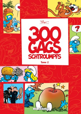 300 gags schtroumpfs Tome 2