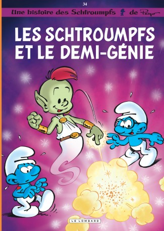 Les Schtroumpfs Lombard Tome 34