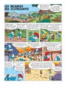 Feuilleter : Les Schtroumpfs en vacances