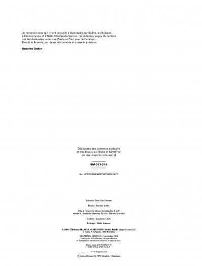 Série Blake & Mortimer Malédiction des Trente Deniers (La) - Tome 2