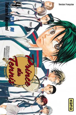 Prince du Tennis tome 4