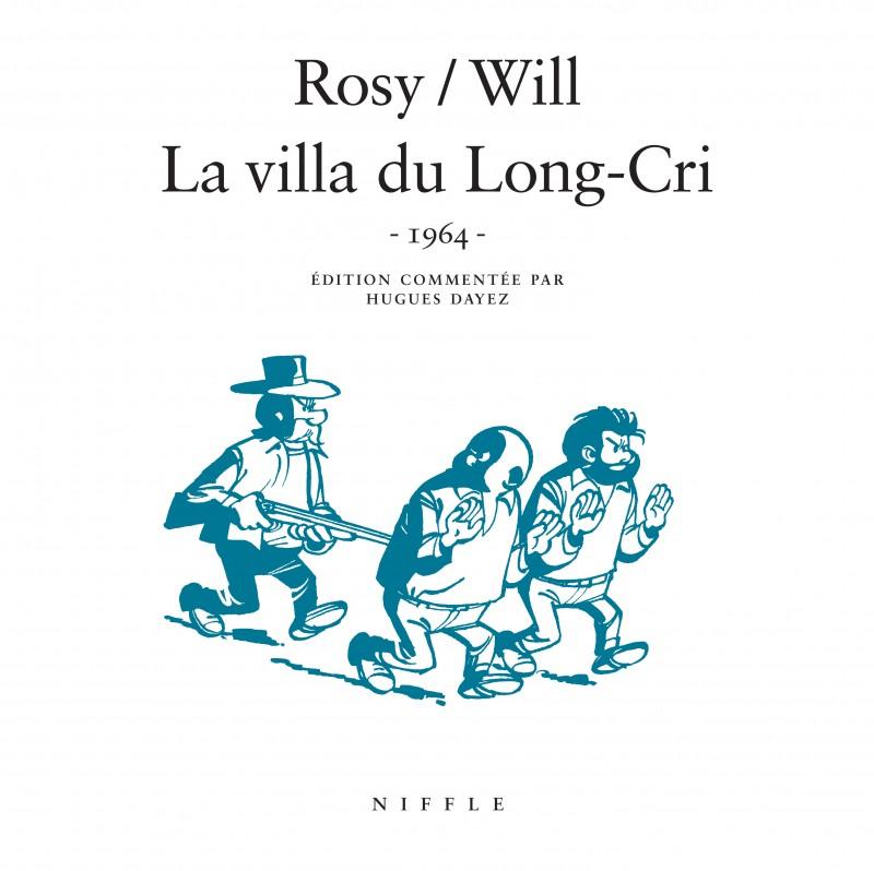 La villa du Long-Cri (1964)  - tome 1 - La villa du Long-Cri (1964)