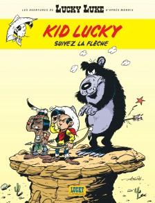 cover-comics-les-aventures-de-kid-lucky-d-8217-aprs-morris-tome-4-suivez-la-flche