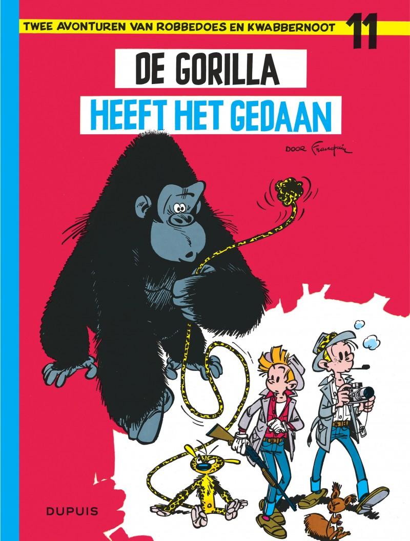 Robbedoes en Kwabbernoot  - tome 11 - De gorilla heeft het gedaan