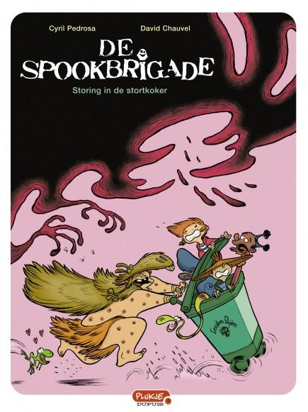 De spookbrigade  - Storing in de stortkoker