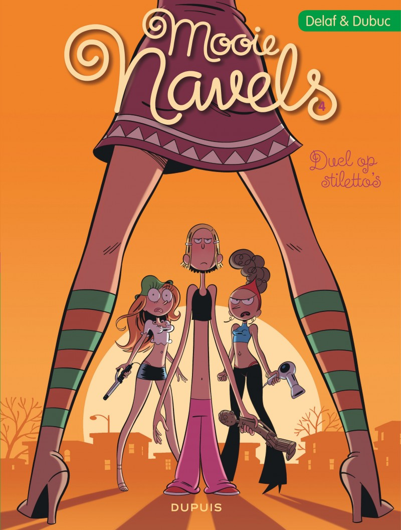 Mooie Navels - tome 4 - Duel op stiletto's