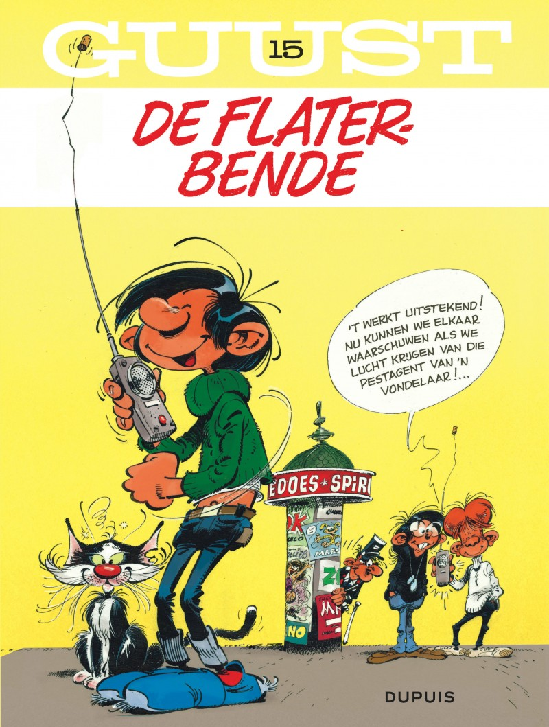 Guust Flater  - tome 15 - Guust Chrono - 60 jaar 15