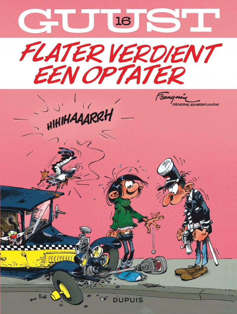 Guust Flater  - tome 16 - Flater verdient een optater