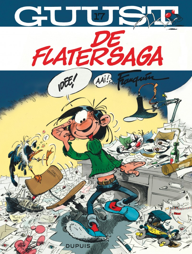 Guust Flater  - tome 17 - De Flatersaga