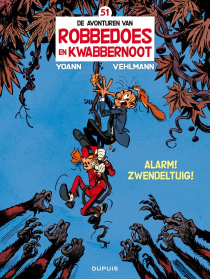 Robbedoes en Kwabbernoot  - Alarm ! Zwendeltuig !